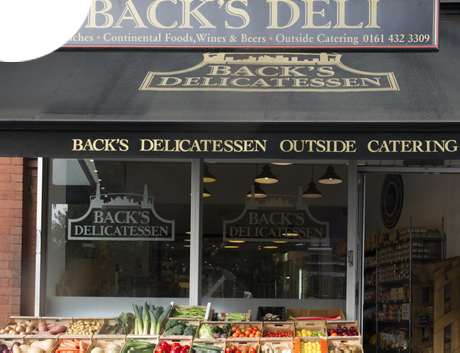 Back's Delicatessent, Heaton Moor, Cheshire