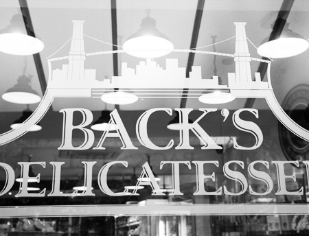 Back's Delicatessen, Heaton Moor, Cheshire